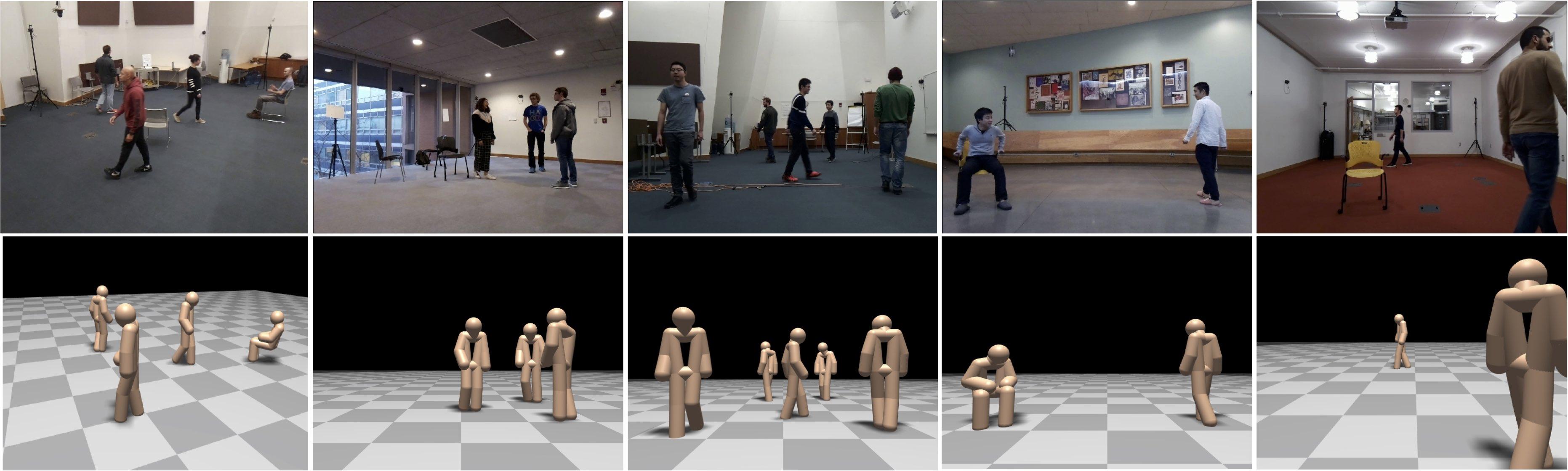 RF-Based 3D Skeletons